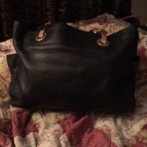 Michael kor leather tote